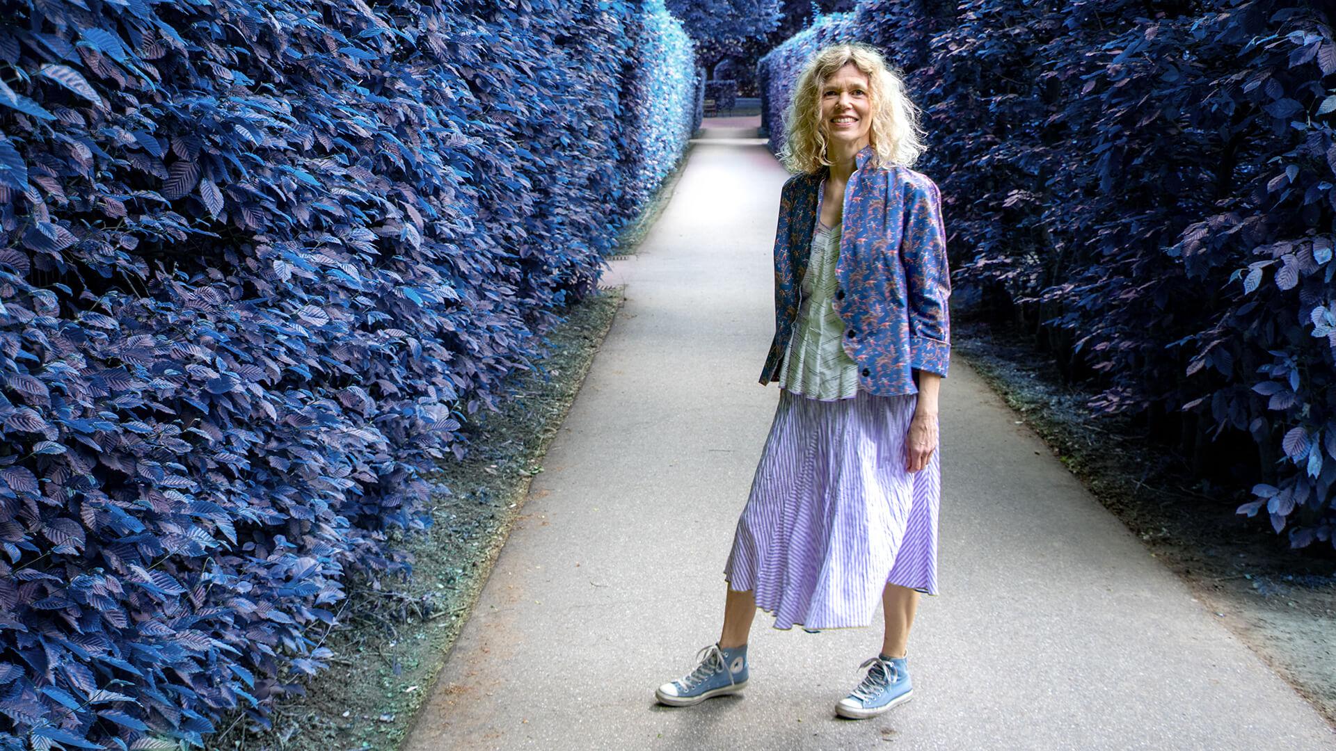 Frühlingskollektion Mode Hamburg Violet