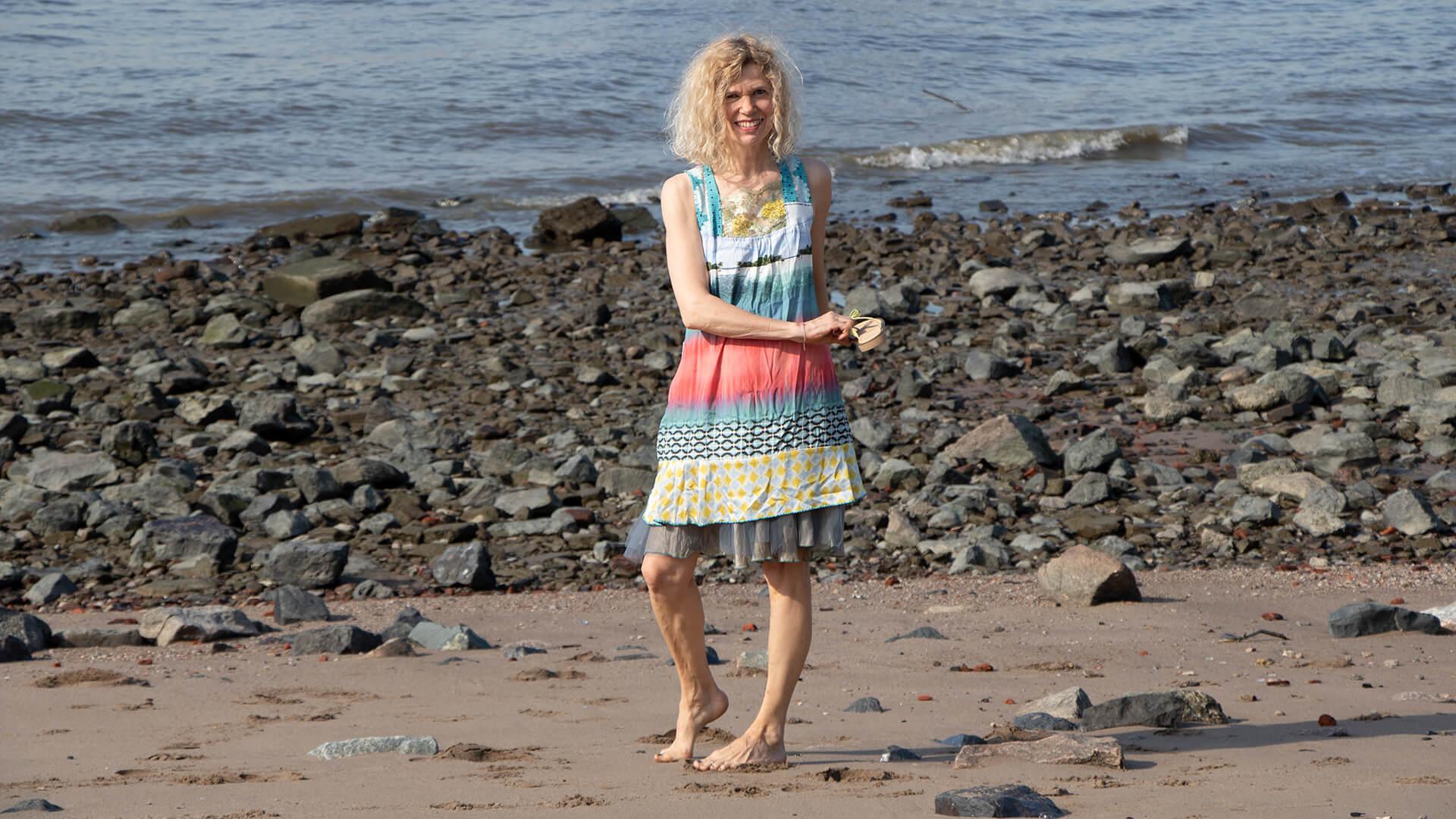 Palmen Beach Kleid Ewa Kuich