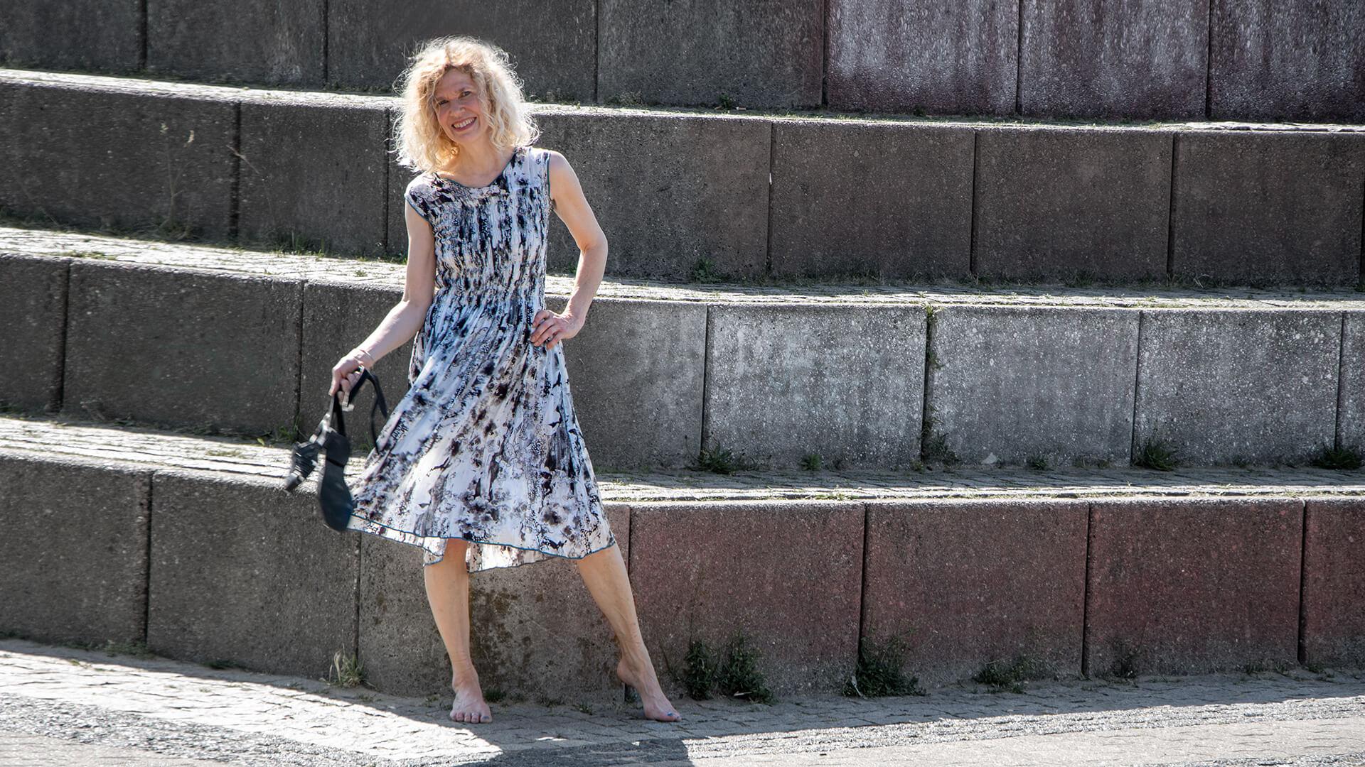 #Sommerkleid #ewakuich Seidenleicht