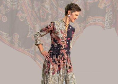 Winterkollektion 2020 Kleid
