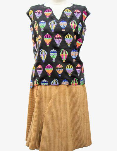 Rock und Top Luftballon Kleider von Ewa Kuich