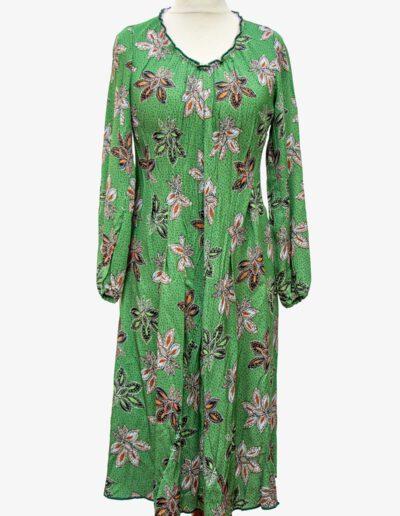 Kleid Blättermuster Kleider von Ewa Kuich