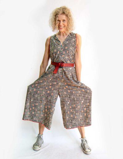 Kleider von Ewa Kuich Jumpsuit etwas japanisch, Battist eco Viscose